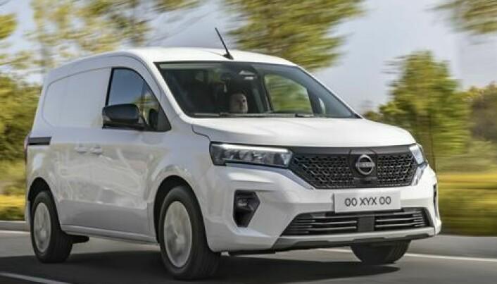 Etterfølgeren til Nissan e-NV200 er klar
