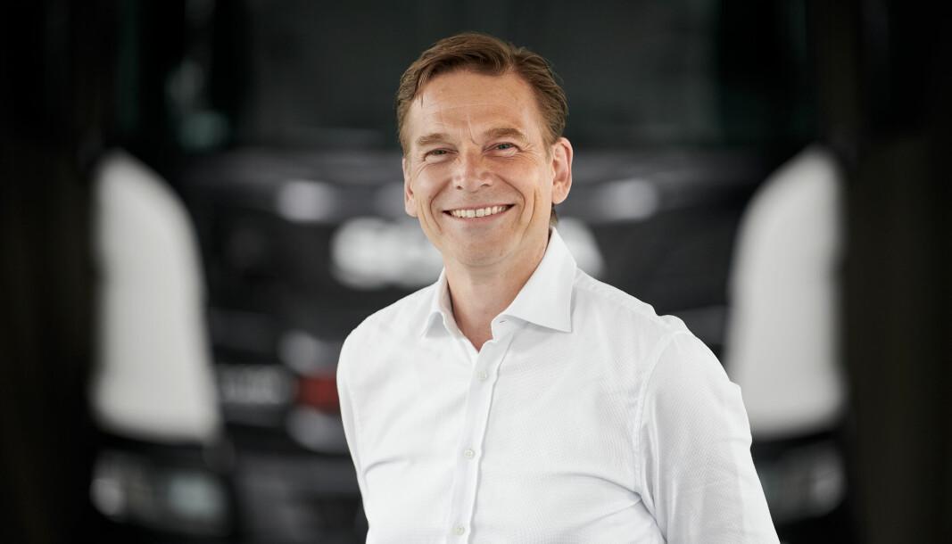 Christian Levin overtar som ny toppsjef i Traton - selskapet som eier Scania og MAN. Samtidig fortsetter han i rollen som administrerende direktør før Scania.
