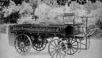 Første Daimler Lastebil fra 1896.