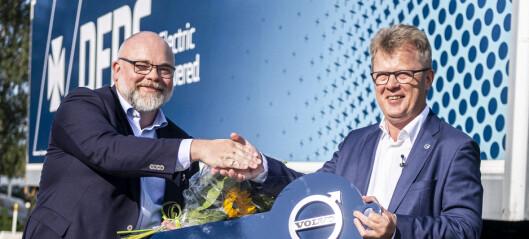 Stor ordre for Volvos elbil