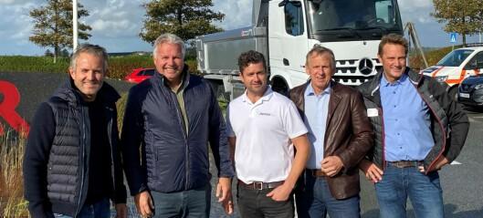 Satser stort på lastebilutleie – utvider med 80 nye kjøretøy