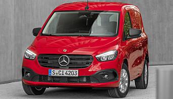 Citan er bygget på Renault-Nissan-Mitsubishi-alliansens plattform, men har umiskjennlige Mercedes-trekk.